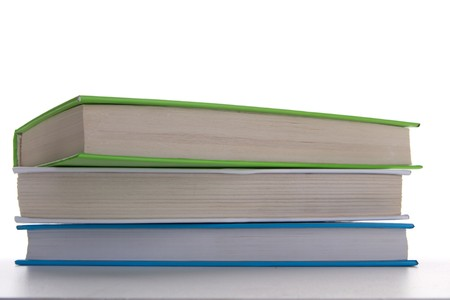 books - isolated on white background Stock Photo - 8026832