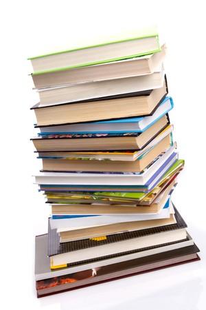 books - isolated on white background Stock Photo - 8026934