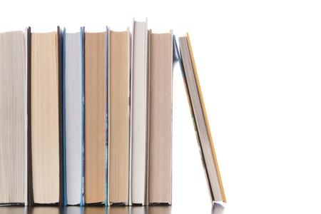 books - isolated on white background Stock Photo - 8027081
