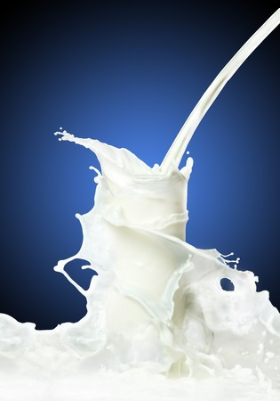 Milk splash Stock Photo - 8110361