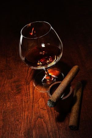Cigar And Cognac photo