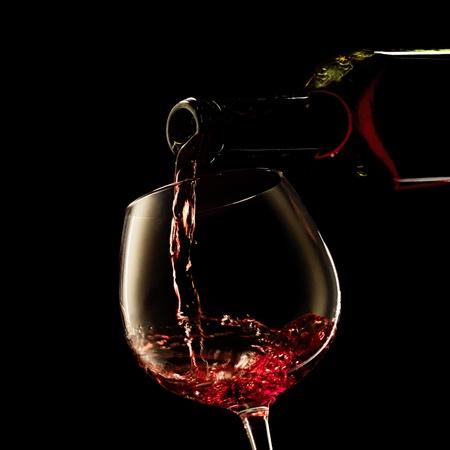 handle bars: Red wine