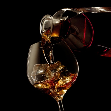 whiskey glass: Cognac
