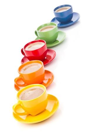 morning tea: coffee concept Stock Photo