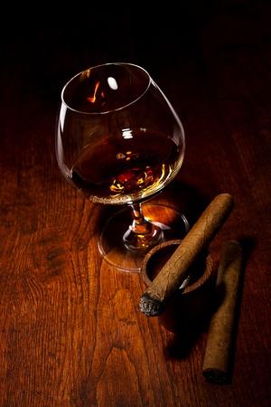 Cigar And Cognac Stock Photo - 11516497