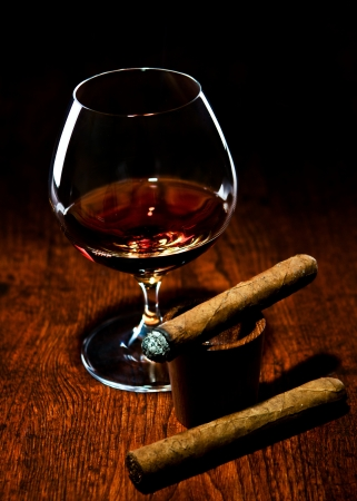 Cigar And Cognac Stock Photo - 10693420