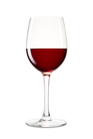 vinos y quesos: Bodeg�n con el vaso de vino rojo