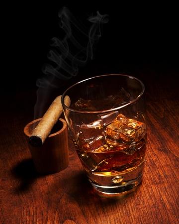 drunks: Cigar And Cognac