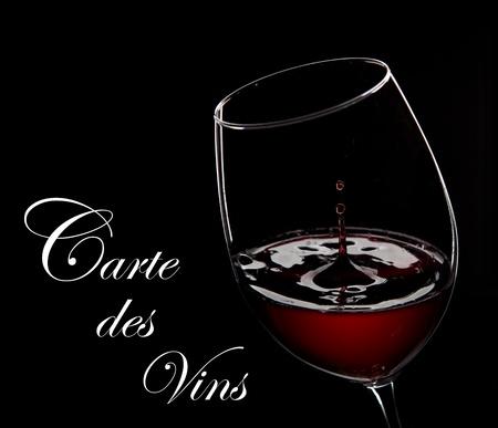 cabernet sauvignon: red wine on a white Stock Photo