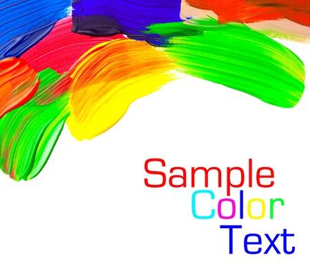 Color Paint Reklamní fotografie