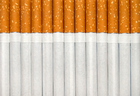 vices: Cigarettes as background Stock Photo