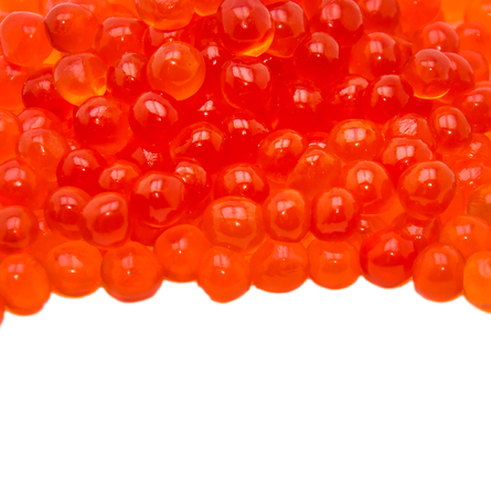 Caviar isolated on white