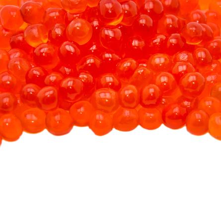 Kaviar isoliert auf weiß Standard-Bild - 79165747