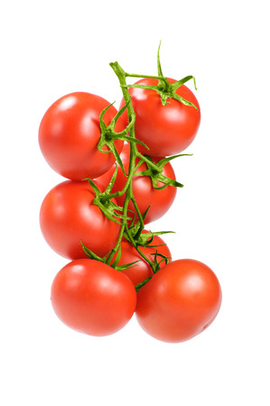 ensalada tomate: tomates rojos