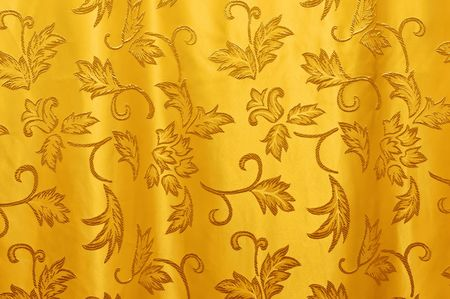 Beautiful curtain texture in horizontal composition