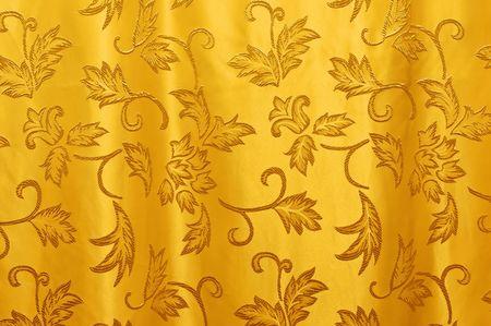 Schöne Vorhang Textur in horizontale Komposition
