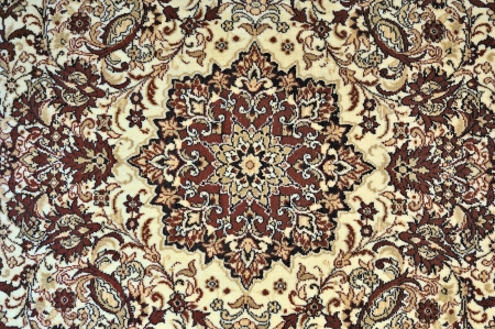 Carpet with ornament as horizontal background Stock Photo - 6927132