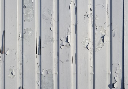 Peeled structure in the horizontal composition photo
