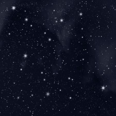 Stars in the night sky Stock Photo - 7090083