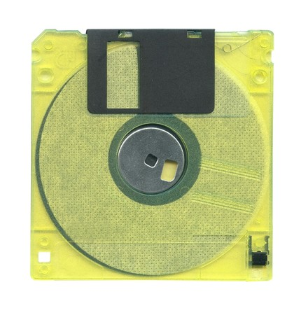 Diskette isolated on white background Stock Photo - 7127114
