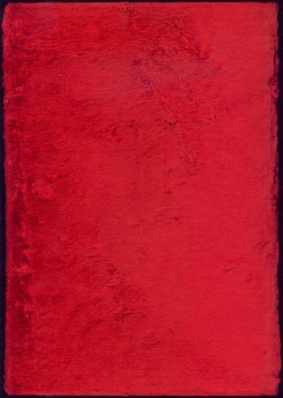 Velvet texture in red color photo