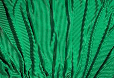 massy: Cloth background in green color