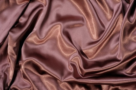Fabric background in brown color photo