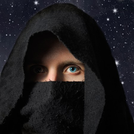Assassin in darkness Stock Photo - 7389652