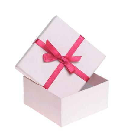 Beautiful box isolated on white background Stock Photo - 7457819