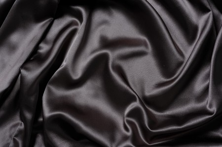 Fabric background in black color photo