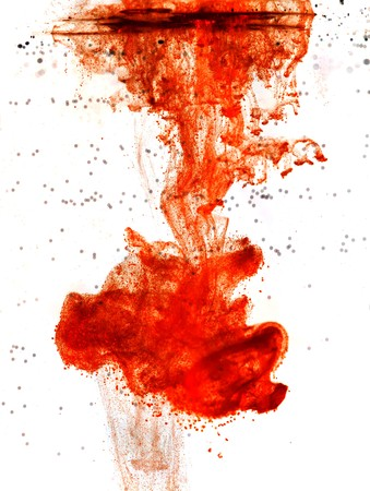 Ink of blood isolated