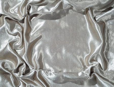 massy: Cloth background in silver color