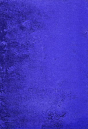 Velvet texture in blue color photo