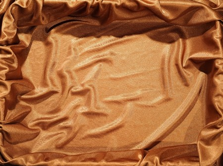 massy: Cloth background in golden color