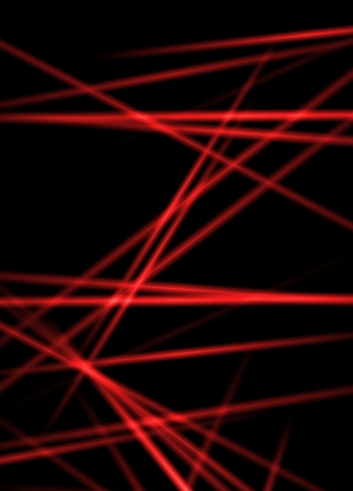 Abstract laser rays for science or technology background  photo