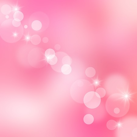 christmas pink: Beautiful abstract background of holiday lights