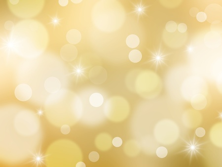 Glittery Christmas background Stock Photo