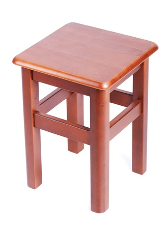 Brown wooden chair. Stock Photo - 9233184