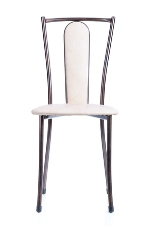 Kitchen chair isolated on white background photo
