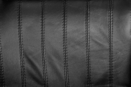 Black leather texture for background photo