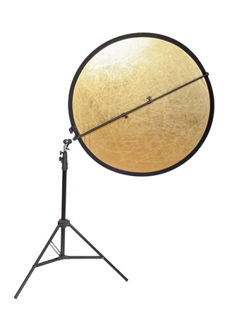 tubus: Studio lighting isolated on the white background