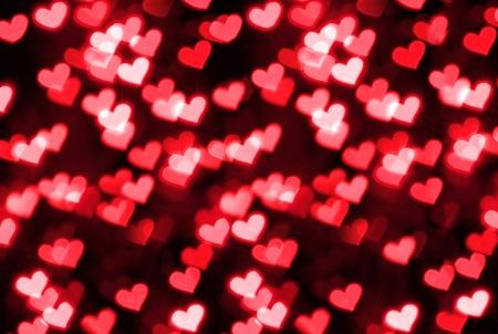 heart shape bokeh photo