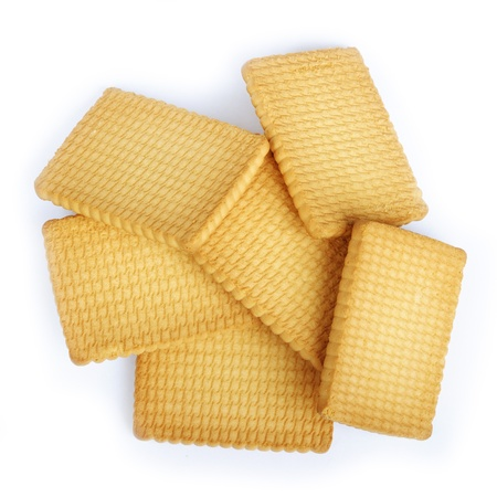 Crackers isolated on a white background Stock Photo - 12332729