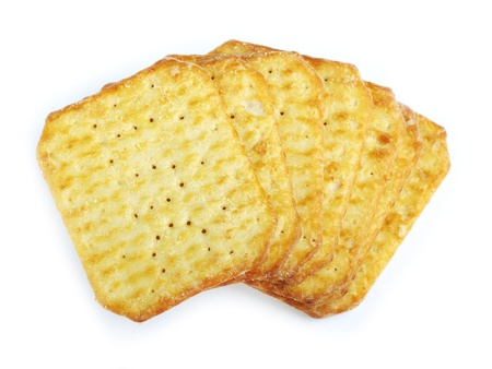 Crackers isolated on a white background Stock Photo - 12720265