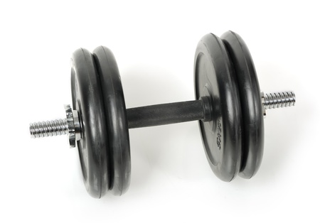 Dumbbells isolated on white background Stock Photo - 12905998