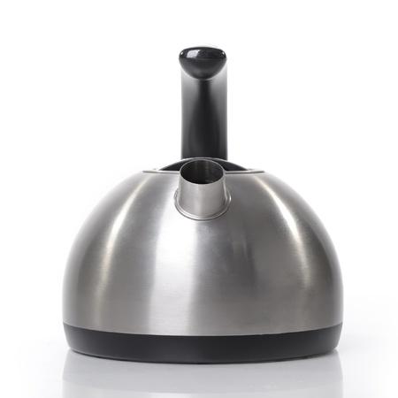 Tea kettle isolated on white background photo