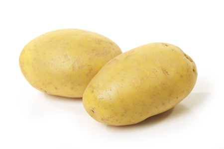 Potatoes isolated on white background Stock Photo - 13668406