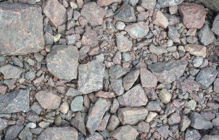 Abstract background texture of some gravel stones photo