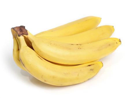 bannana: Bananas isolated on white