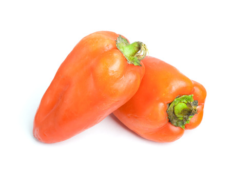 bell peper: Bell pepper isolated on white background